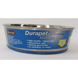 DuraPet Premium Stainless Steel Dog Dish - 3 Quart
