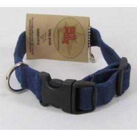 "Earthdog Adjustable Hemp Pet Collars - Small 8""-14"""