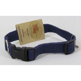 "Earth dog Adjustable Hemp Pet Collar, Medium 14""-20"""