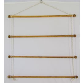 Robbins Lumber Towel Bar Assembly, Sustainable Pine