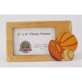Maple Landmark Photo Frame – Sports