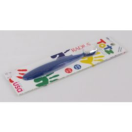 Radius Totz Toothbrush, Extra Soft, 18+ Months, Blue