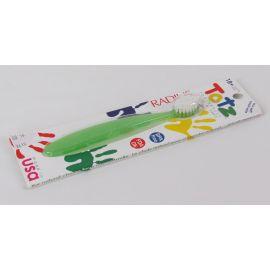 Radius Totz Toothbrush, Extra Soft, 18+ Months, Green