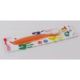 Radius Totz Toothbrush, Extra Soft, 18+ Months, Orange