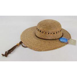 Tula Hats Hand-Woven Palm Vagabond Hat