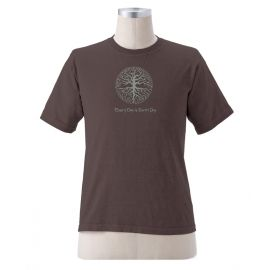 "Earth Creations T-Shirt ""Roots"", Mud"