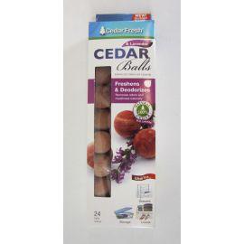 Cedar Fresh Cedar & Lavender Balls, 24 Pack