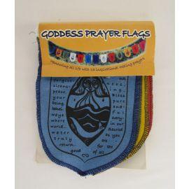 Wild Earth Goddess Mini Prayer Flags