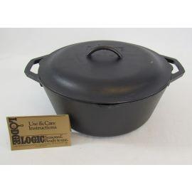 Lodge Cast Iron Dutch Oven w/Lid – 7 qt