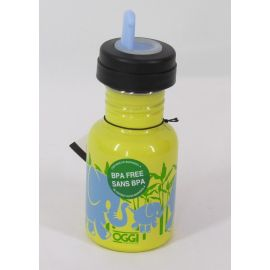 OGGI Stainless Steel Sippy Bottle, Elephants