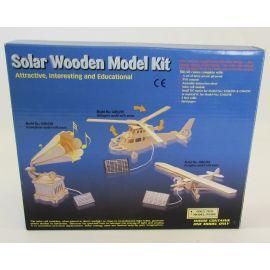 Solar Wooden Model Kit – Aeroplane