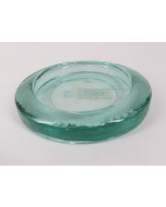 """6"""" Recycled Glass Candle Tray"""
