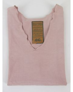 Earth Creations Organic Cotton Sumptuous Tank Top, Moonstone