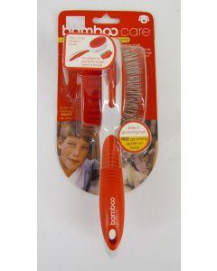 Bamboo Brand 3-in-1 Dog Grooming Tool