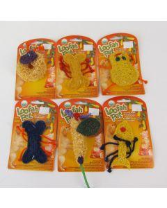 Free Range Loofah Pet Toy
