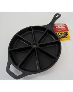 Lodge Logic Cast Iron Wedge Pan