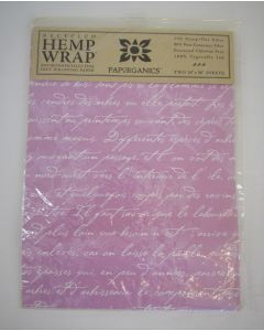 Paporganics Sustainable Gift Wrap-French Lilac-2 Pack