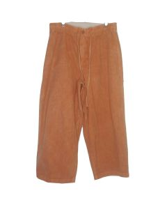 Earth Creations Woven Crop Pant, Hemp/Organic Cotton, Clay Dyed, Henna