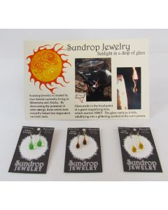 Sundrop Jewelry Single Drop Earrings