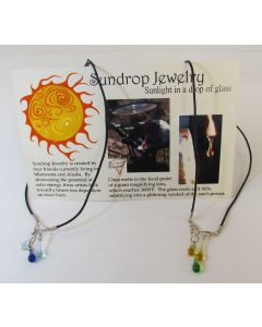 Sundrop Jewelry Three Drop Necklace