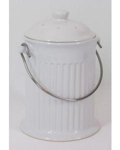 Norpro Ceramic Compost Crock w/filter