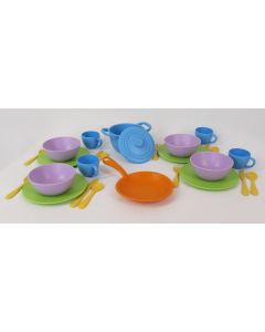 Green Toys Cookware & Dining Set, 27 pc