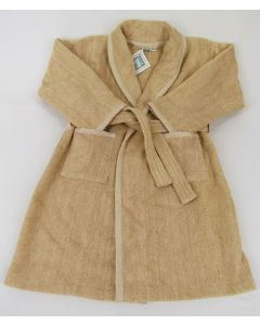 Native Organic Toddler's Robe, Cafe, Med
