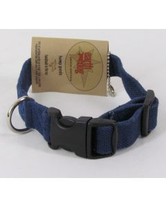 "Earthdog Adjustable Hemp Pet Collars - Small 8""-14"""