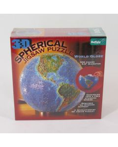3D Spherical Jigsaw Puzzle - New World