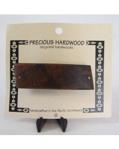 Precious Hardwood Barrette – Wood