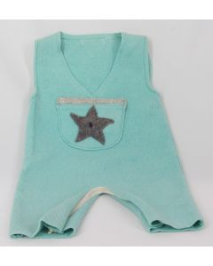 Madrone Berries 1-pc Jumper Lt Blue, 6 Months