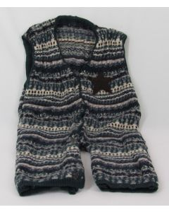 Madrone Berries 1-pc Jumper, Multi-colored, Wool knit, Star, 18 Months