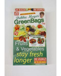 Debbie Meyer Reusable GreenBags, 20 Pack