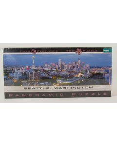 Seattle Panoramic Jig Saw Puzzle, Over 3 Feet Wide