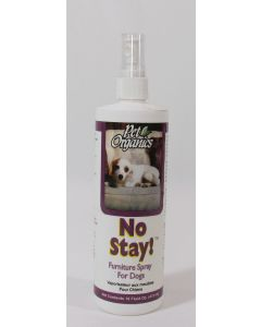 "Pet Organics ""No Stay"" Furniture Spray, for dogs"
