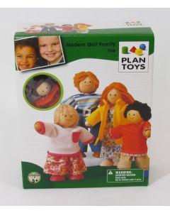 Plan Toys Modern Doll Family-Caucasian