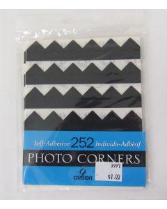 Canson Self Adhesive Photo Corners, 252 Corners