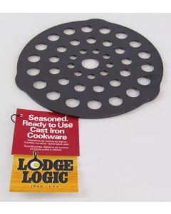 "Lodge Logic Cast Iron 8"" Trivet/Meat Rack"