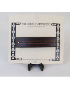 Precious Hardwood Barrette – Laminated Wood