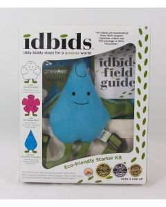 Idbids Eco-friendly Starter Kit, Waverly the Water Drop
