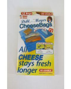 Debbie Meyer Reusable CheeseBags, 12 Pack