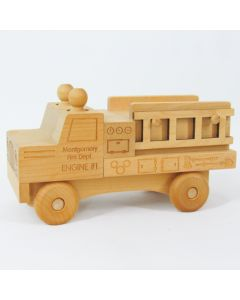 Schoolhouse Naturals Fire Truck Engine #1