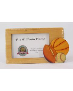 Maple Landmark Photo Frame – Sports