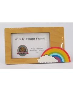 Maple Landmark Photo Frame – Rainbow