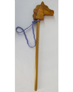 Maple Landmark Hobby Horse w/upcycled Reins