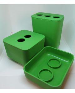 EcoGen Bathroom 5 pc Assessory Kit