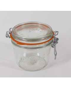 """La Parfait"" Storage Jar w/glass lid, 500 grams"