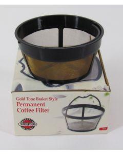 Norpro Reusable Coffee Filter Basket, #4, Flat Base 10-12 Cups