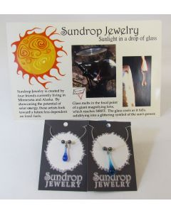 Sundrop Jewelry Necklace w/Sundrop & Hematites