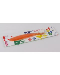 Radius Totz Toothbrush, Extra Soft, 18+ Months, Orange